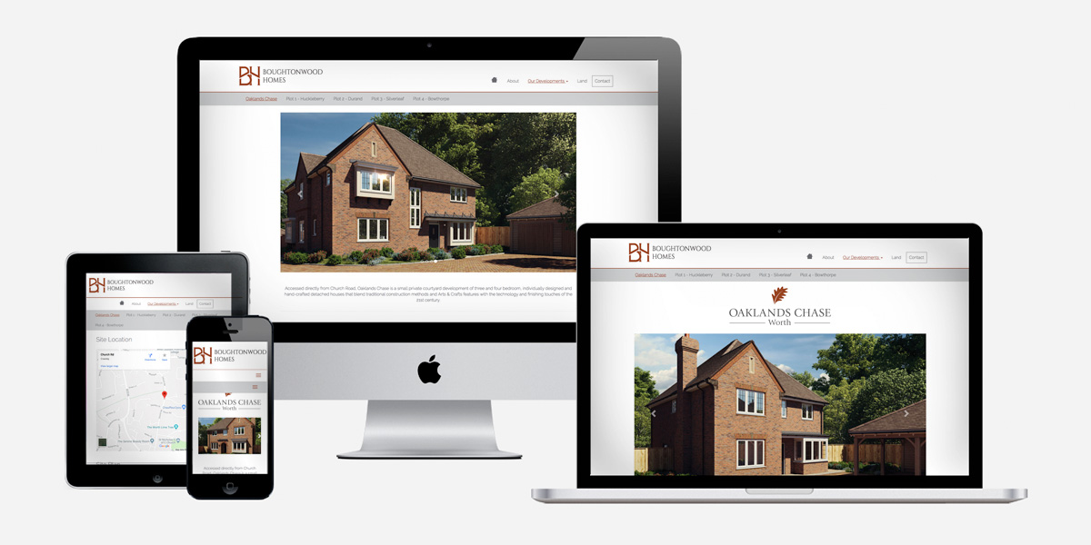 Responsive web design and development sussex surrey