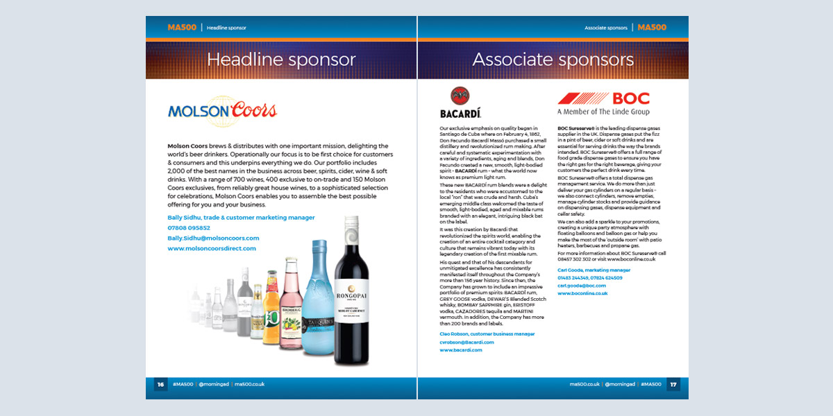 Graphic design and print brochures documents