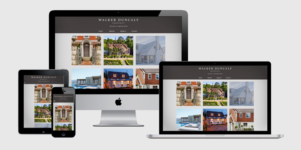 Brochure responsive adaptive web design sussex and surrey